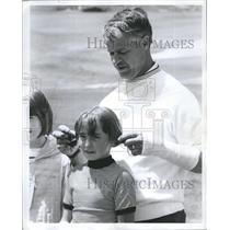 1970 Press Photo Gordie Howe Red Wings - RSH36087