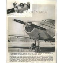 1947 Press Photo Pitch Aeromatic Propeller Hub - RRU80481