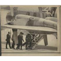 1972 Press Photo Aircraft Hijacking Seizure Group Mich - RRV43215
