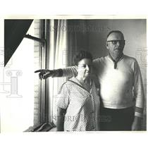 1967 Press Photo Plane Crash Apartment - RRV66617