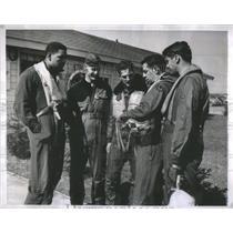 1952 Press Photo Saul Pett Otis Air Force Base Cape Cod - RSC52569