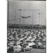 1966 Press Photo O'Hare International Airport Parking - RRU80643