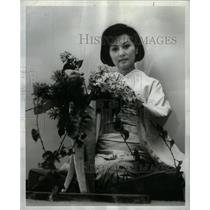 1964 Press Photo Miss Junko Kawai Professional Model - RRX27457