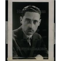 1929 Press Photo Captain Francis Thomas English Aviator - RRU33615