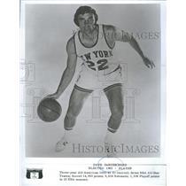 1982 Press Photo Dave DeBusschere - RSH26231