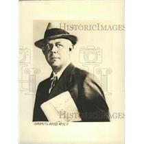 1940 Press Photo Grantland Rice American Sportswriter. - RSH58021