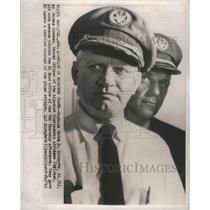 1961 Press Photo Captain Byron D Rickards Pilot - RSC83503
