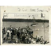 1925 Press Photo Comdr Donald MacMillan Explorer Party Ready to Depart