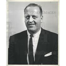 1961 Press Photo Lynn Patrick Boston Bruins Hockey - RSH36263