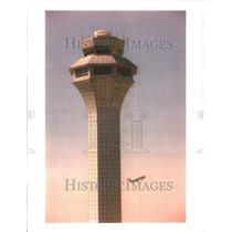 1996 Press Photo O'Hare Airport Building Control Tower - RRU80537