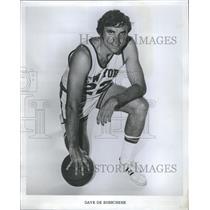 1973 Press Photo New York Knicks player Dave DeBusschere - RSH26225