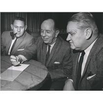 1965 Press Photo Bob Morris Dick Butler A Ray Smith Texas League  - RSH32193