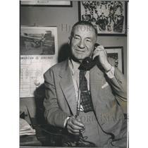 1954 Press Photo Art Ross Bruins - RSH31839