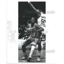 1988 Press Photo Otis Thorpe, of the Sacramento Kings - RSH33855