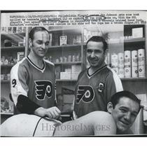 1969 Press Photo Jim Johnson Ed Van Impe Leon Rochefort - RSH29367