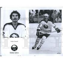 Press Photo Buffalo Sabres Andre Savard Ice Hockey - RSH30305