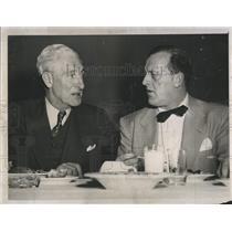 1952 Press Photo Les and Lynn patrick - RSH29485