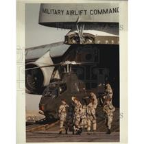 Press Photo Military Airlift Command