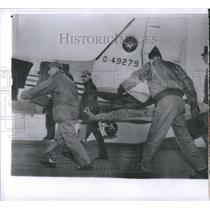 1961 Press Photo Stratton Charles B Rescue Crone Plane - RRU84451