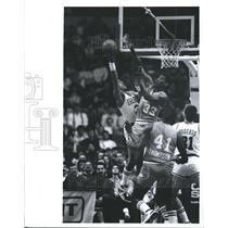 1987 Press Photo Otis Thorpe, Sacramento Kings  - RSH33853