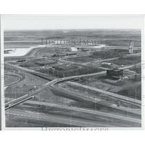 Press Photo Mirabel Airport - Montreal: Control & Services Area