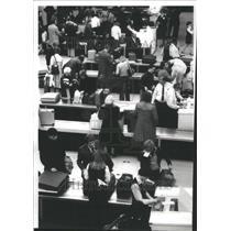 1977 Press Photo O'Hare International Terminal Crush - RRU80589
