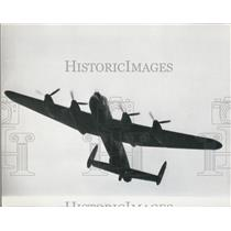 1967 Press Photo A Lancaster bomber on show