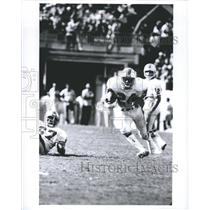Press Photo Delvin Williams Miami Dolphins Football Running Back During Play