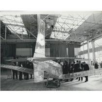 1971 Press Photo Weybridge Man-Powered Aircraft Group Press Conference