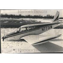 1967 Press Photo James Wainscott Plane Graveyard - RRV66415