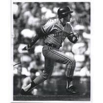 1992 Press Photo Detroit Tigers Dave Bergman  - RSH36945