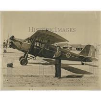 1939 Press Photo early long distance flier Alex Loeb & Ryan Monoplane