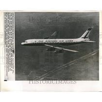 1964 Press Photo Flight Eastern Airlines Jet Type - RRV74951