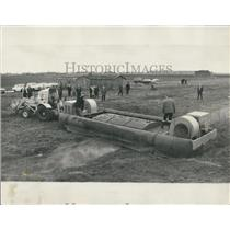 1969 Press Photo Hoverplatform Being Demonstrated At Heathrow