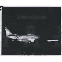 1956 Press Photo Air Force Plane. - RSH69549