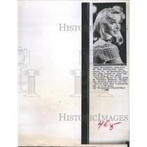 1960 Press Photo Sue Lyon American Actress. - RSH38027