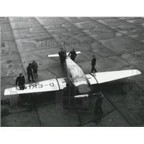 1957 Press Photo Focke-Wulf German Sport Plane - BL 500.