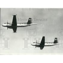 1965 Press Photo Two Breguet 1150 Atlantic in Flight