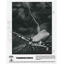 """1996 Press Photo Picture Of Plane Out Of Control In Movie """"Turbulence"""""""