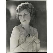 1929 Press Photo Broadway Actress, Singer Julia Sanderson - RSL51383