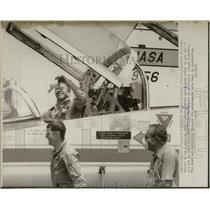 1973 Press Photo Paul J Weitz Skylab Pilot Cape Kennedy - RSL67715