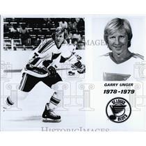 1978 Press Photo Garry Unger St Louis Blues - RSL54095