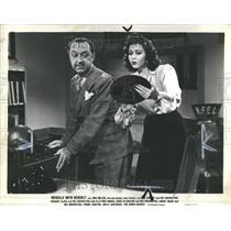 1943 Press Photo Johnnie Lucille Collier Ann Miller - RRR83089