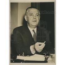 1941 Press Photo William Rhodes Davis Oil Business Executive Politics