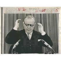 1967 Press Photo Splinter Party Aid Pearson in Test Vote - RSH18665