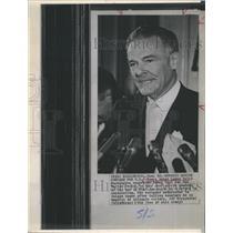 1964 Press Photo Resigned ambassador to Saigon Henry Cabot Lodge in Washington.