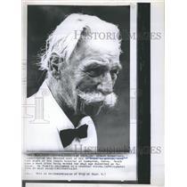 1965 Press Photo Dr. Albert Schweitzer died in Lambarene,Gabon - RSH72373