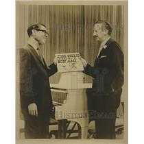 Press Photo Jose Melis, on left, standing in front of Piano. - RSH70879