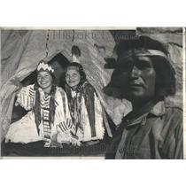 1940 Press Photo Hopi Indians De Smet Idaho Ceremony - RRR91463