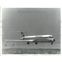 1981 Press Photo Sun America Inc Jet Pinellas Florida - RRR93459